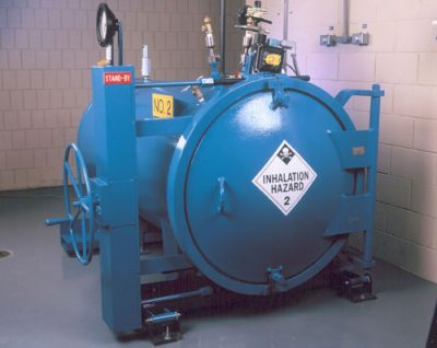 Ton Chlorine Containment Vessel