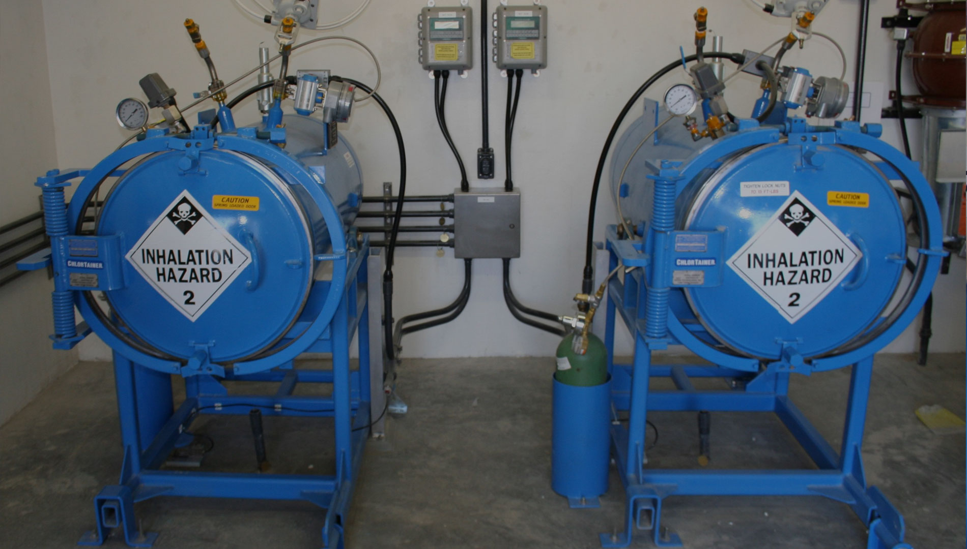 Secondary Chlorine Containment