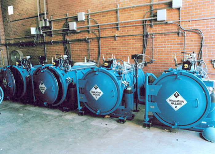 Chlorine Gas Containment Vessel