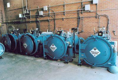 Ton Chlorine Containment Vessel