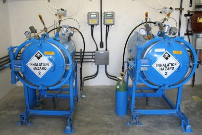 Twin 150 Chlorine Containment