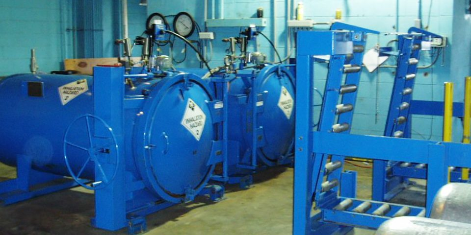 Safe Secondary Containment Equipment For Chlorine Gas