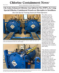 City Gains Enhanced Chlorine Gas Safety for Two WTP's, by Using Special